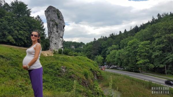 Podróżowanie w ciąży - Piaskowa Skała, Polska