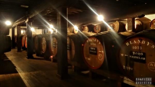Muzeum Blandy's Wine Lodge - Funchal, Madera