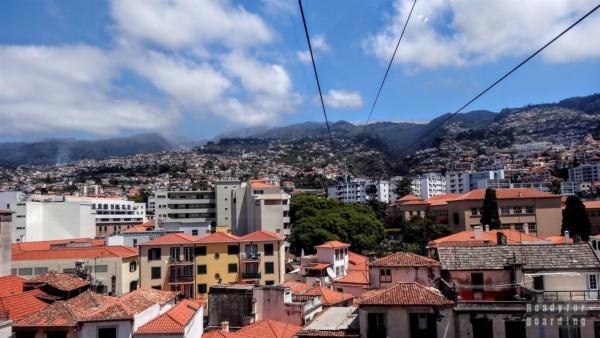 Teleferico, kolejka linowa w Funchal