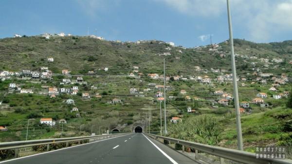 Droga na południu Madery