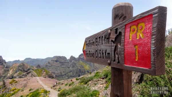 Droga na Pico Ruivo, Madera