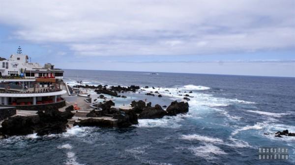 Kompleks basenów lawowych w Porto Moniz, Madera