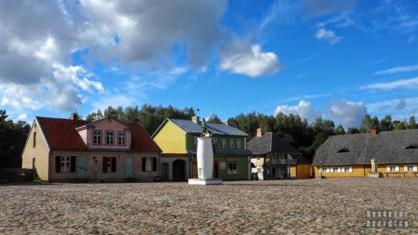 Rynek, Skansen w Rumszyszkach - Litwa