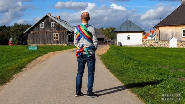 Miasto, skansen w Rumszyszkach - LitwaSkansen Rumszyszki - Litwa