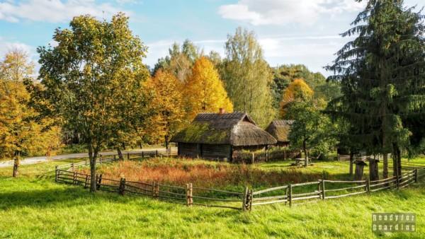 Wileńszczyzna, skansen w Rumszyszkach - Litwa