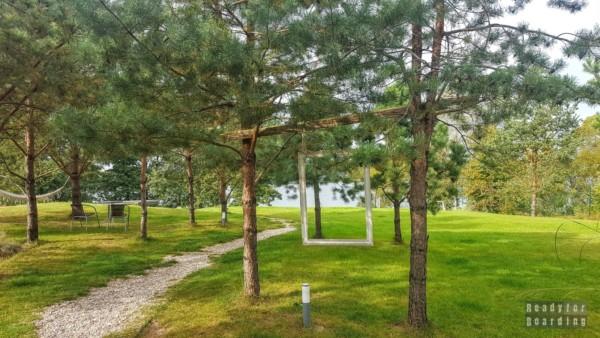 Okolice Augustowa - Jezioro Serwy - Mołowiste
