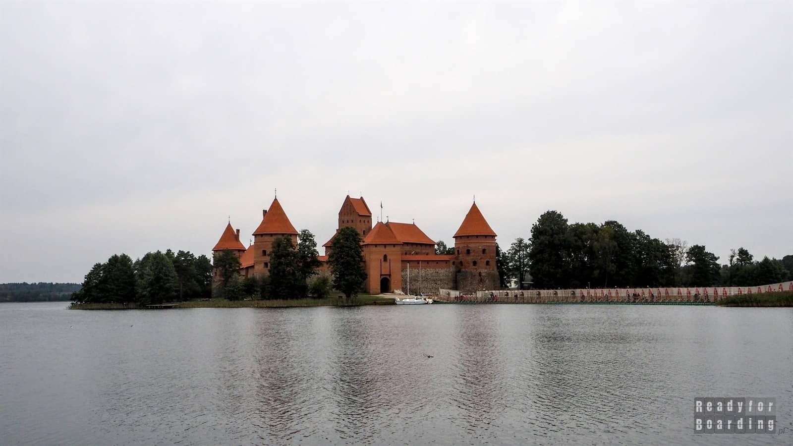 Litwa - Zamek w Trokach (galeria zdjęć)