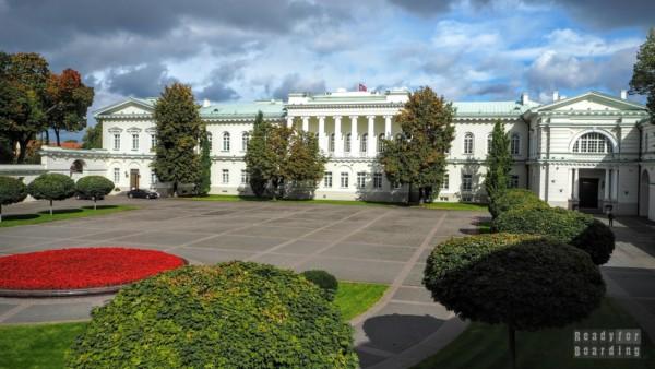 Ogrody w Pałacu Prezydenckim, Wilno