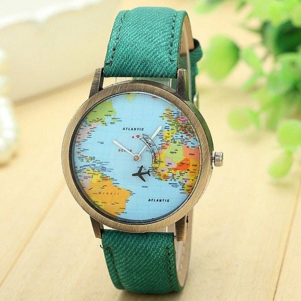 Prezent - zegarek z samolotem