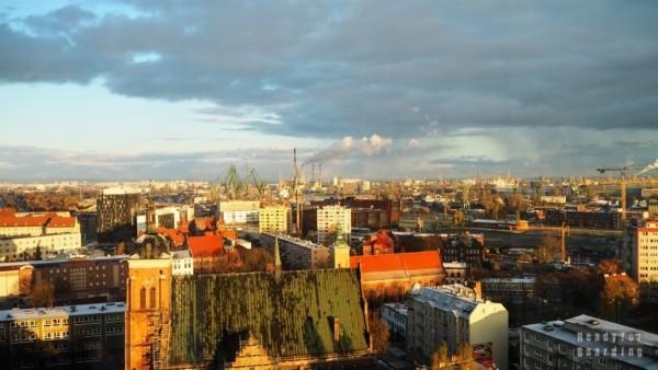 Widok na Gdańsk - Trójmiasto