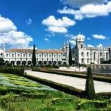 Portugalia – Belem, zatłoczona dzielnica Lizbony
