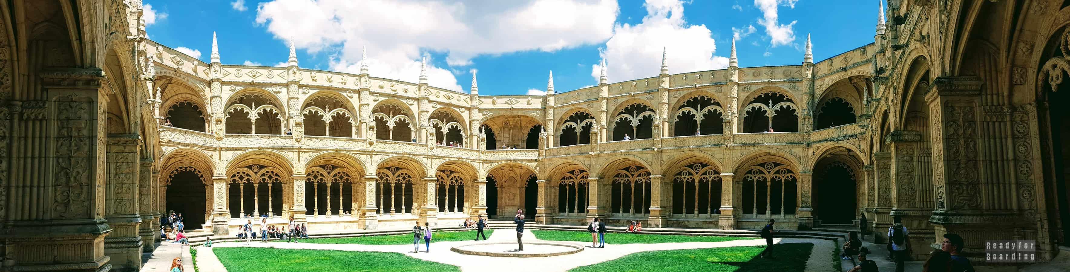 Panorama: Klasztor Hieronimitów - Belem, Lizbona