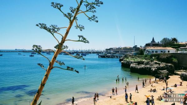 Plaża w Cascais - Portugalia