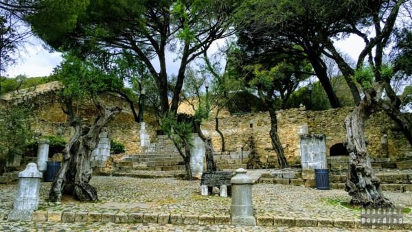 Zamek Św. Jerzego - Lizbona