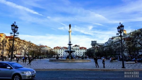 Praca Dom Pedro IV - Lizbona