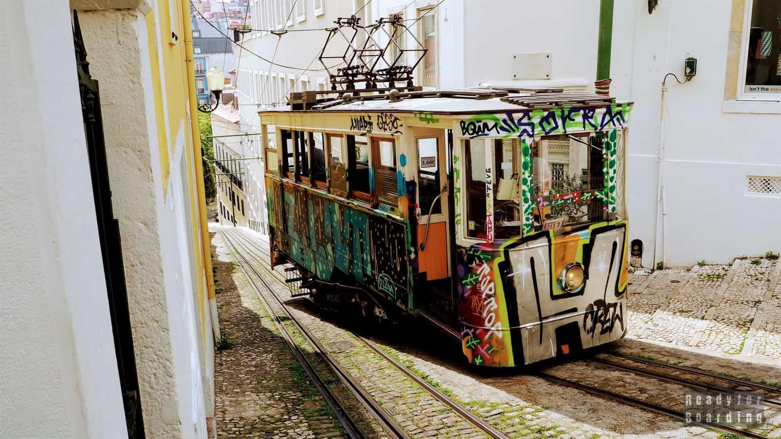 Portugalia - Lizbona cz. 2: słynne tramwaje... (galeria zdjęć)