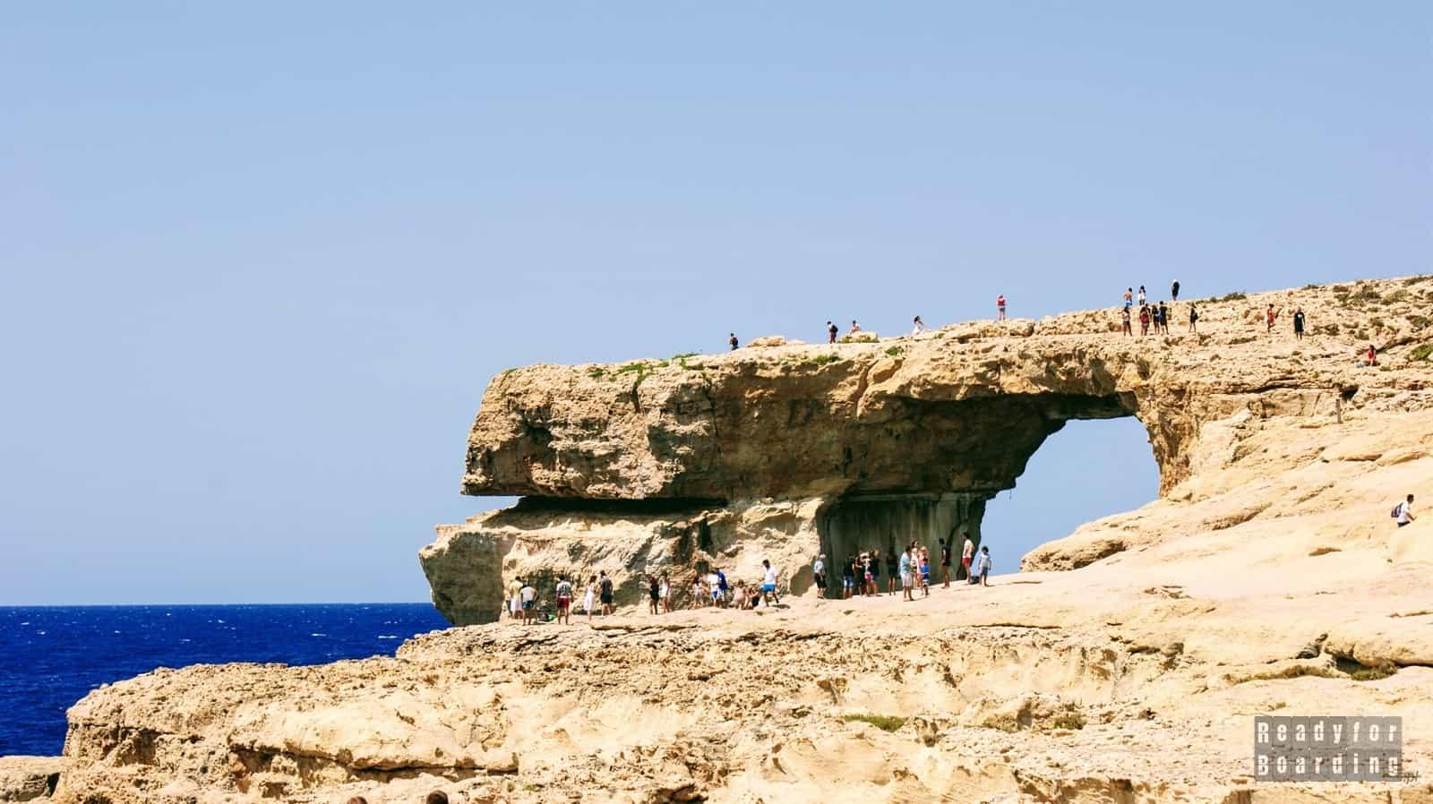 Malta - Gozo i Azure Window (galeria zdjęć)