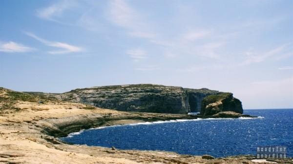 Klify na Gozo - Malta