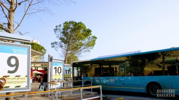 Dworzec autobusowy, Valletta - Malta