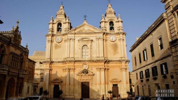 Katedra św. Pawła, Mdina - Malta