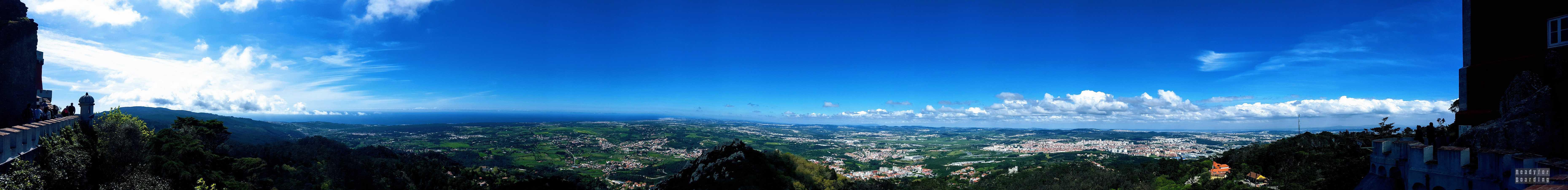 Panorama: Sintra - Portugalia