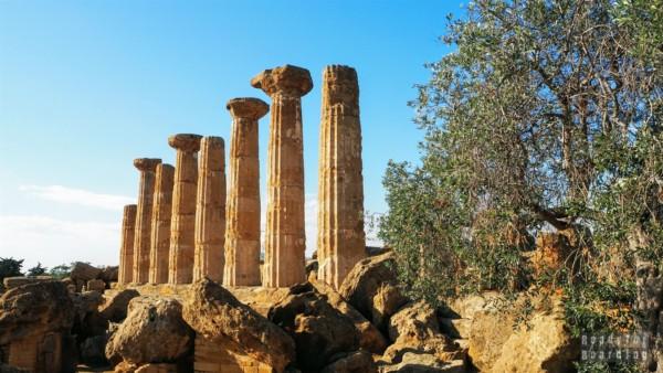 Tempio di Ercole, Agrigento - Sycylia