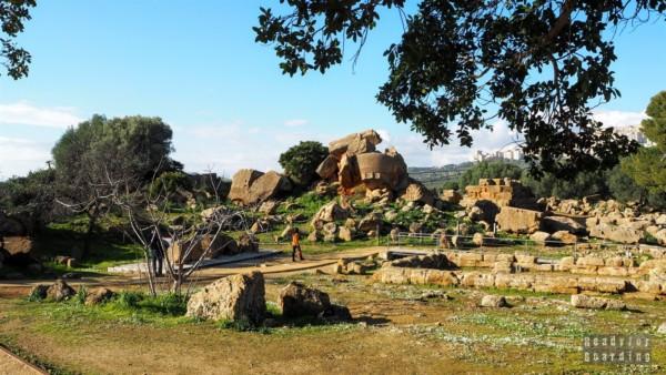 Tempio di Giove, Agrigento - Sycylia