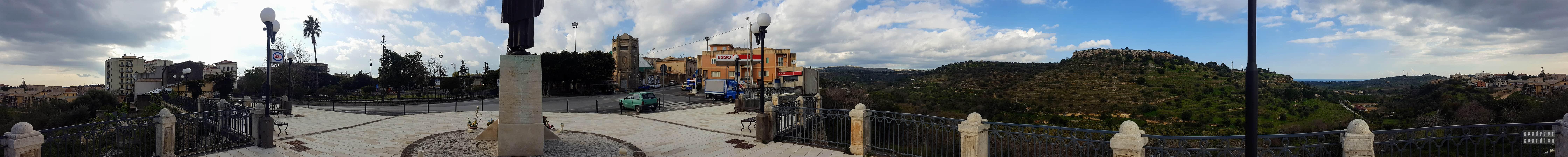 Panorama: Noto - Sycylia