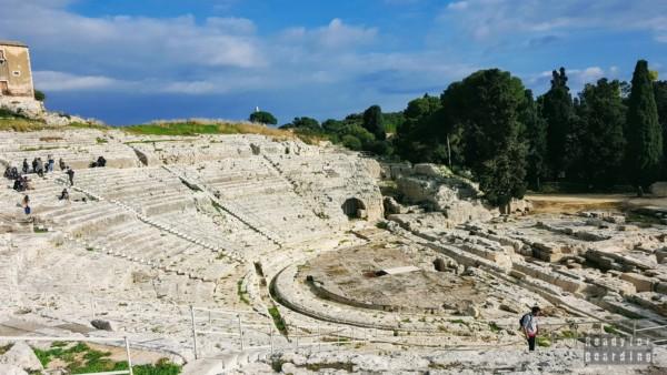 Teatr Grecki w Syrakuzy - Sycylia