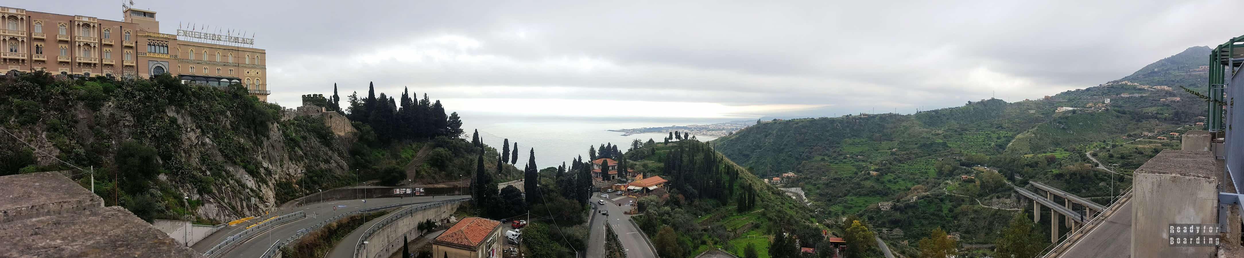 Panorama: Taormina - Sycylia