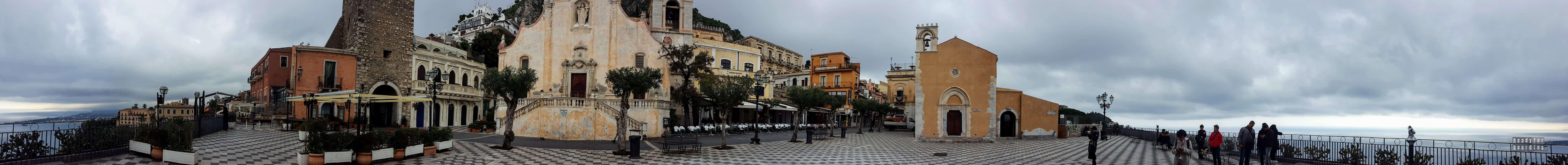 Panorama: Terrazza Sul Mare, Taormina - Sycylia