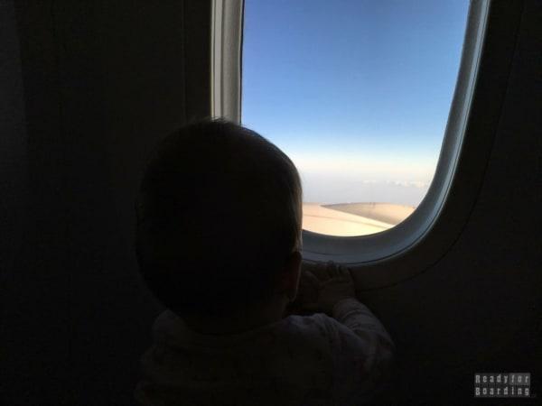 Na pokładzie LOTu do Pekinu