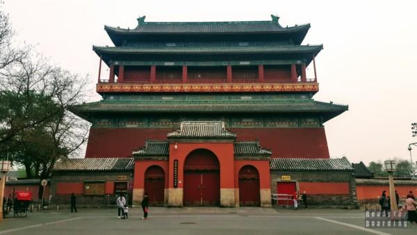 Wieży Bębna i Wieży Dzwonu w Pekinie