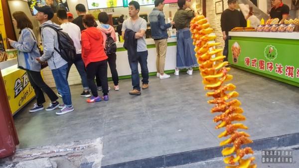 Street food, hutongi w Pekinie