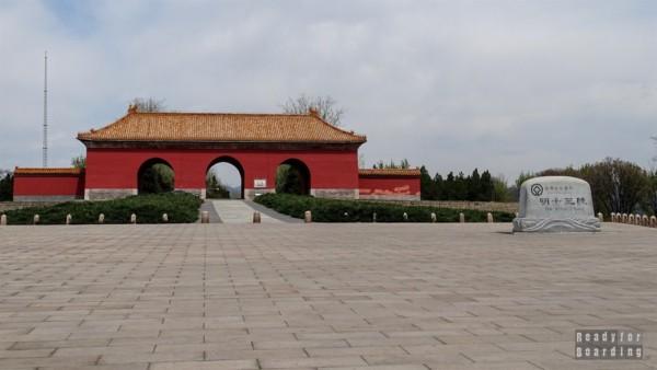 Droga do grobowców, Pekin