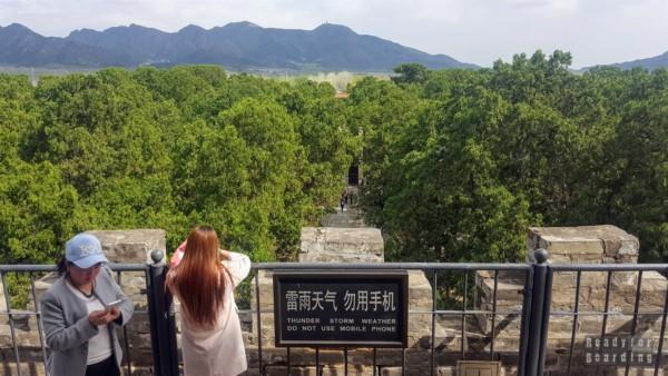 Widok z grobowca