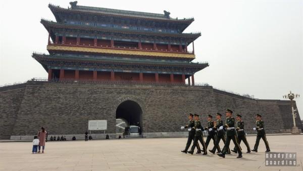 Zhèngyángmén, Plac Tiananmen, Pekin