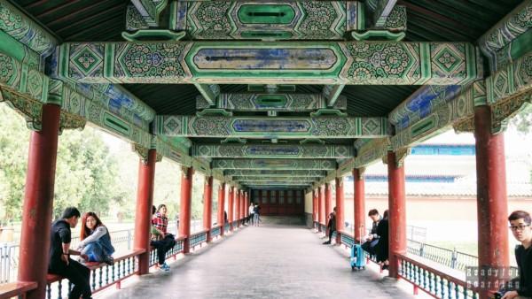 Korytarz, Świątynia Nieba, Pekin