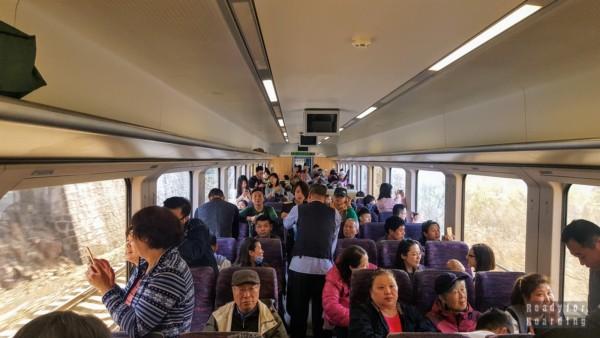 Pociąg S2 do Badaling, Chiny