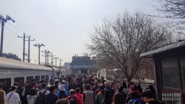 Stacja kolejowa, Badaling