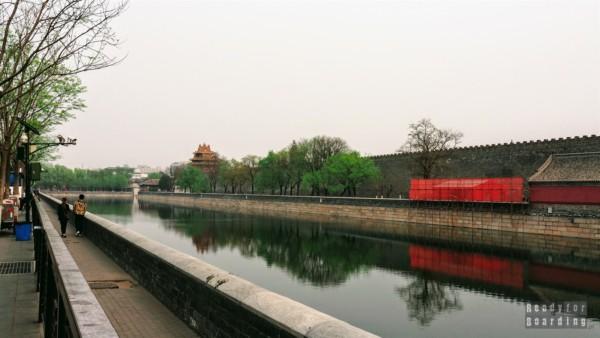 Fosa wokół Zakazanego Miasta, Pekin