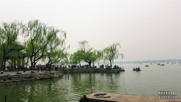 Jezioro Kunming, Summer Palace w Pekinie, Chiny