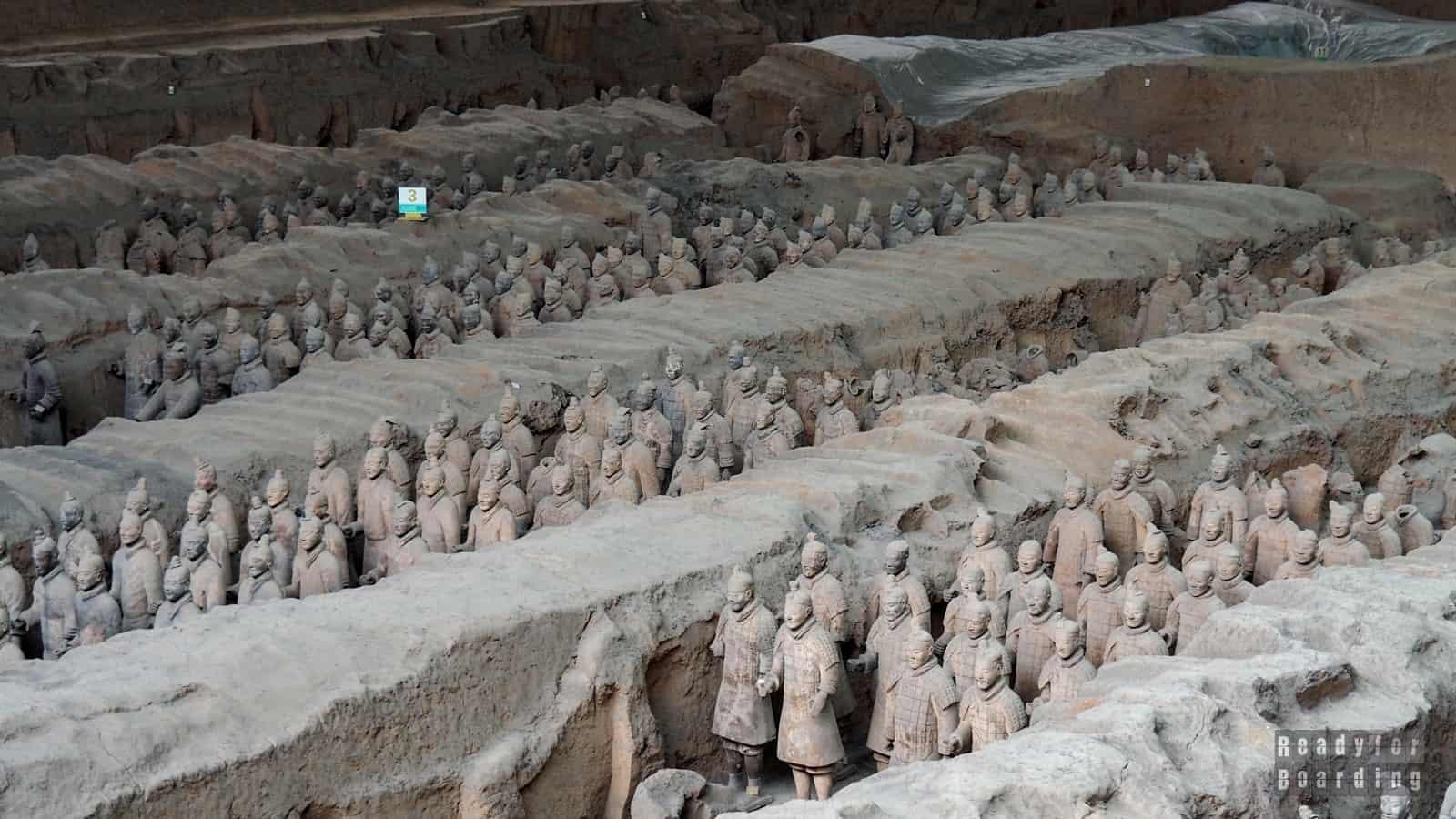 Xi'an - Terakotowa Armia (galeria zdjęć)
