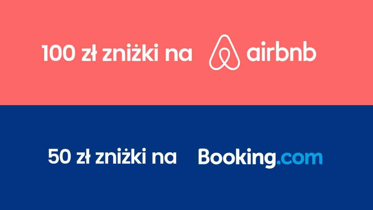 Zniżka na Airbnb i Booking.com