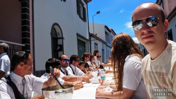 Ucztowanie w Ribeira Grande, Azory