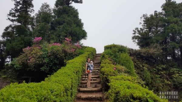 Schody do Miradouro da Boca do Inferno, Azory