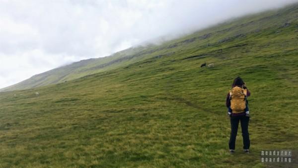 Najwyższy szczyt - Slættaratindur, Eysturoy - Wyspy Owcze