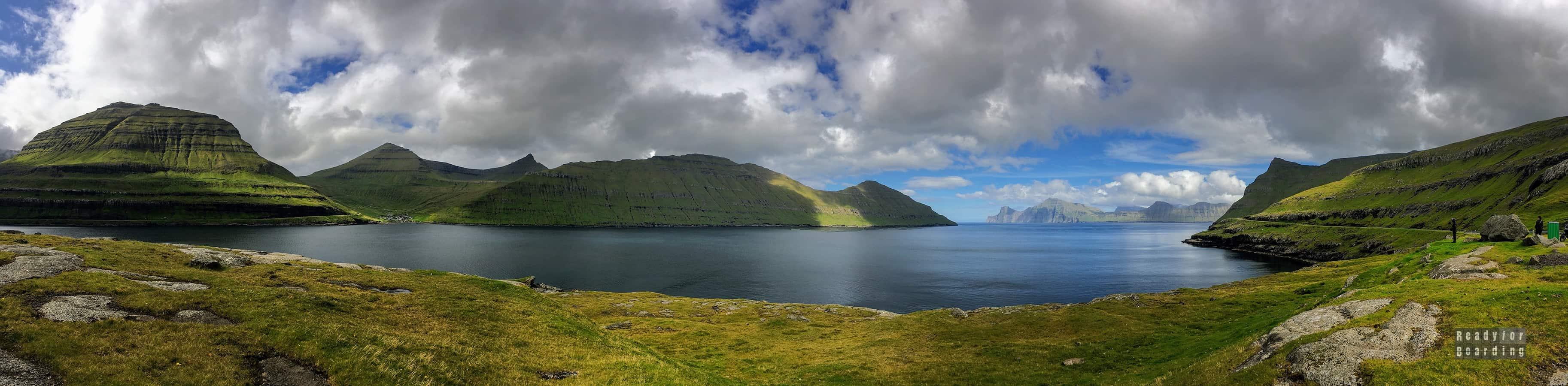 Panorama: Eysturoy - Wyspy Owcze