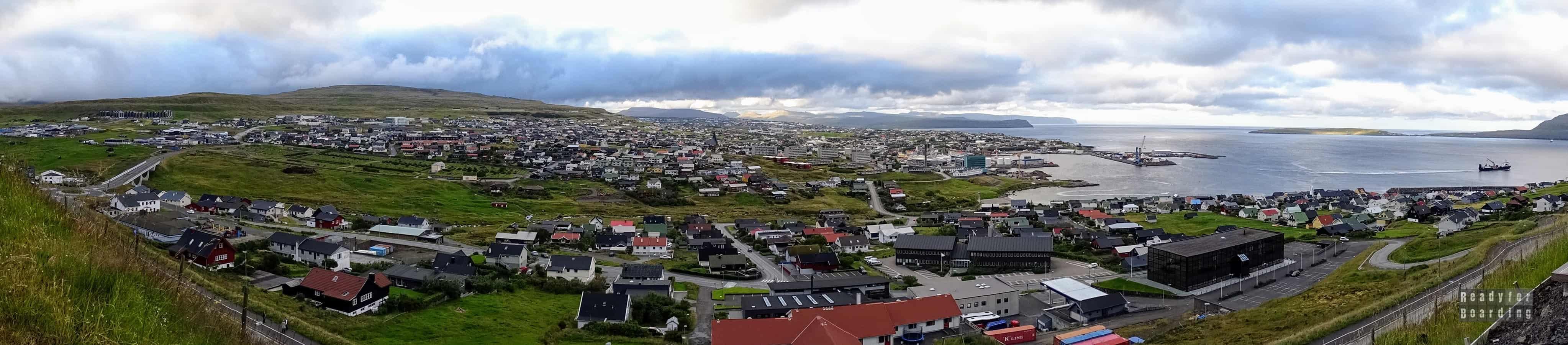Panorama: Tórshavn, Streymoy - Wyspy Owcze