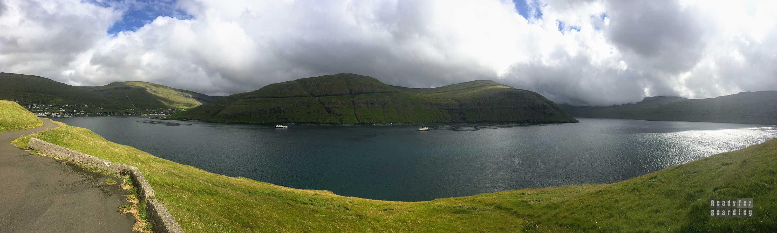 Panorama: Vestmanna, Streymoy - Wyspy Owcze